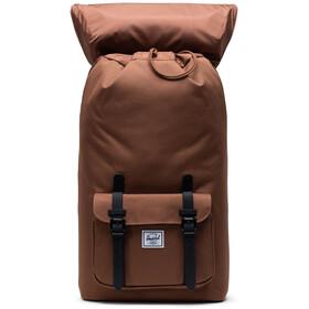 Herschel Little America Backpack saddle brown/black